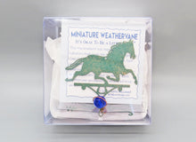Load image into Gallery viewer, Horse Silhouette Weathervane Ornament