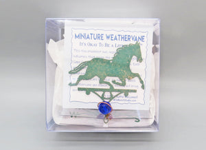 Horse Weathervane Ornament - charmed