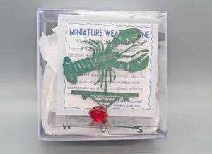 Lobster Weathervane Ornament - charmed