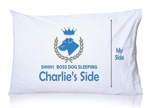 Mixed Breed (Charlie) Personalized Pillowcase