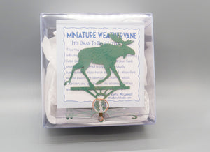 Moose Weathervane Ornament - charmed