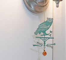 Load image into Gallery viewer, Owl Silhouette Weathervane Ornament