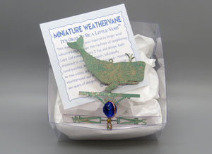 Whale Weathervane Ornament - charmed