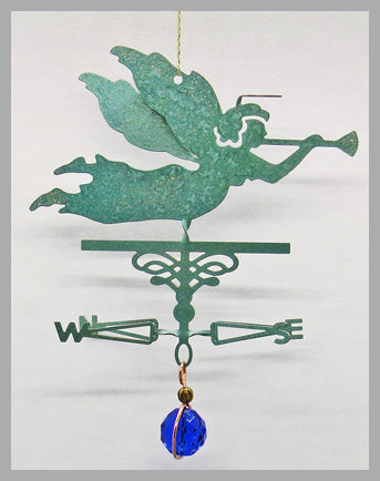 angel weathervane ornament