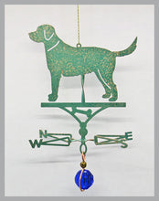 Load image into Gallery viewer, lab dog silhouette weathervane ornament