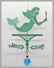 Load image into Gallery viewer, Mermaid Silhouette Weathervane Ornament