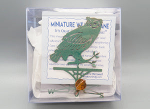 Owl Weathervane Ornament - charmed