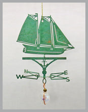 Load image into Gallery viewer, Schooner America Silhouette Weathervane Ornament