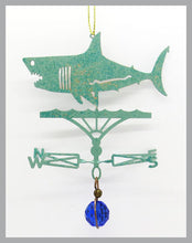 Load image into Gallery viewer, Shark (Great White) Silhouette Weathervane Ornament