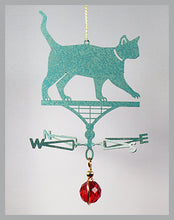 Load image into Gallery viewer, Cat silhouette weathervane ornament