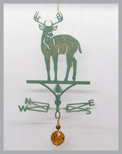 Load image into Gallery viewer, Deer Buck silhouette weathervane ornament