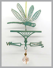Load image into Gallery viewer, dragonfly silhouette weathervane ornament