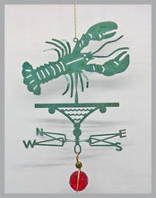 Load image into Gallery viewer, lobster silhouette weathervane ornament