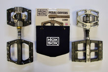 Load image into Gallery viewer, Collection of pedals that all fit the Large sized Nox Sox Pedal Covers