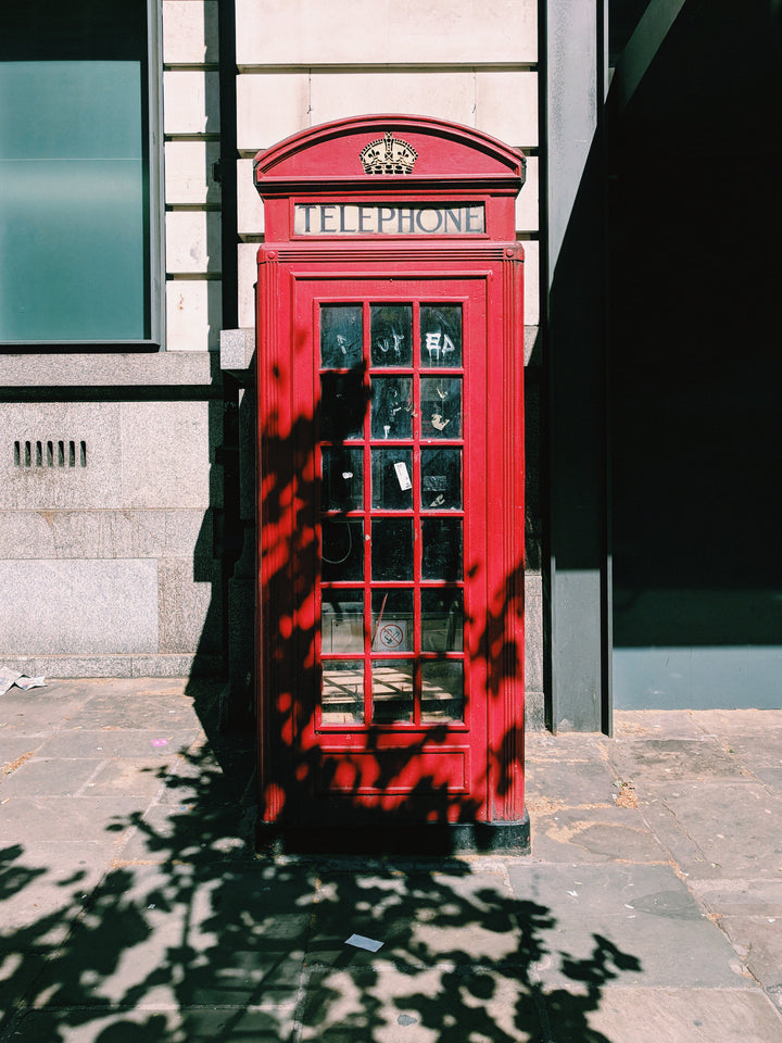 An Ode to: The British Telephone Box