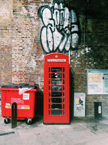The British Telephone Box #17