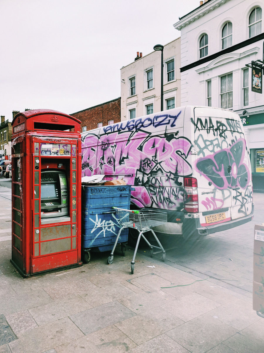 The British Telephone Box #3