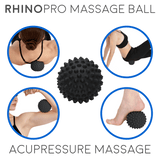 Rhino Pro - Firm Acupressure Massage Ball (Multi-Pack)