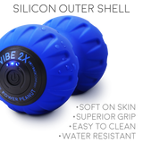 Vibe 2X Power Peanut - 3-Speed Battery Powered High Intensity Roller