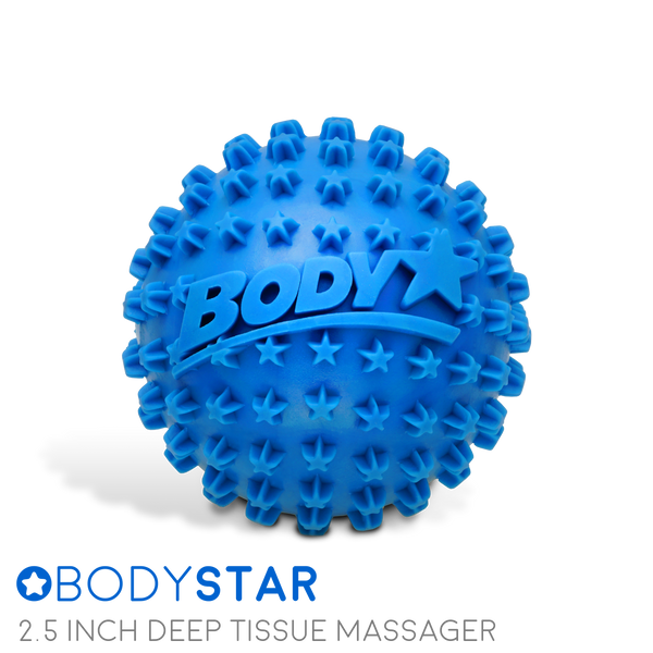 BodyStar 2.5 Inch Acupressure Ball (Multi-Pack)