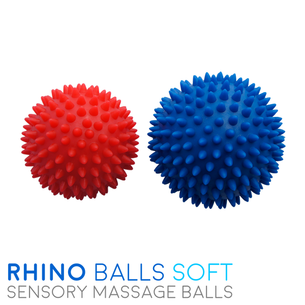 Rhino Balls - Sensory Massage Balls - Soft (Multi-Pack)