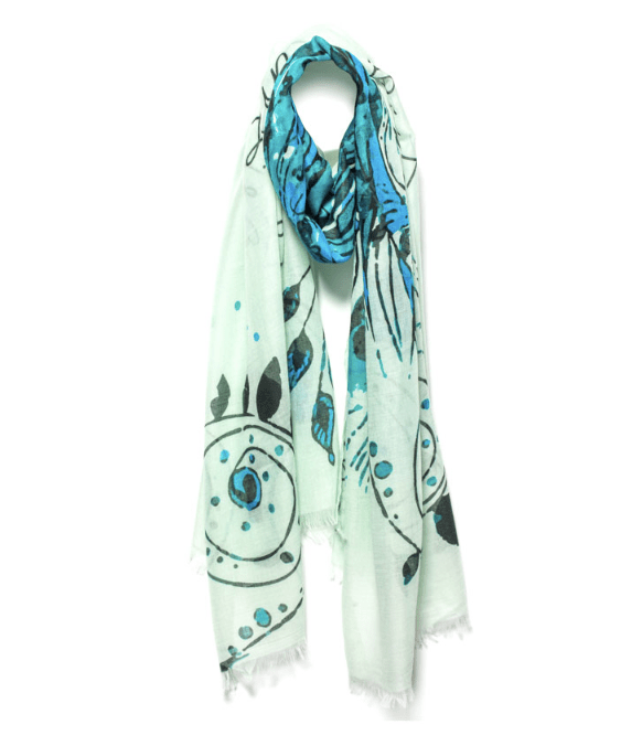 Mantra Scarf Life is tough but so are you