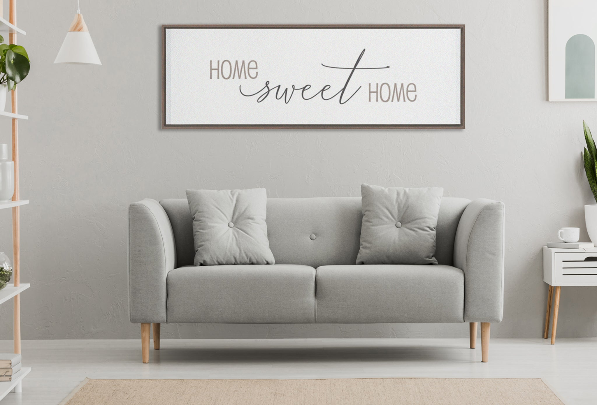 Home Sweet Home Wall Decor.Home Sweet Home Home Wall Decor Framed Traditional Stretched Canvas Framed