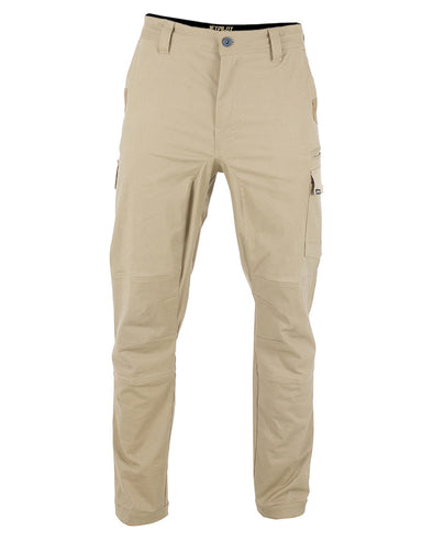 JETPILOT MENS FUELED CUFFED PANT KHAKI