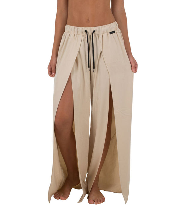 JETPILOT LUXE LADIES BEACH PANT KHAKI
