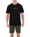 BLK REVOLVED MENS TEE