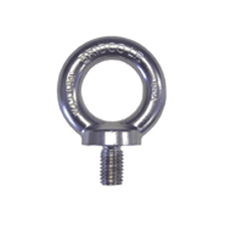 Rated SS Eye Bolt - Short Version