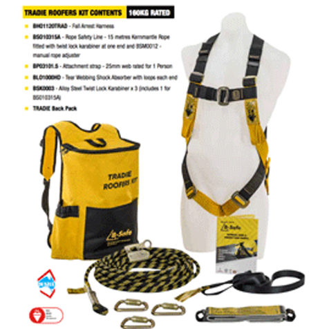Roof Workers Height Safety Kit