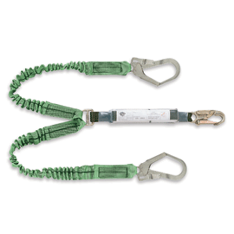 Double Stretch Energy Absorbing Lanyard