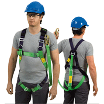 Contractor Harness with Lanyard