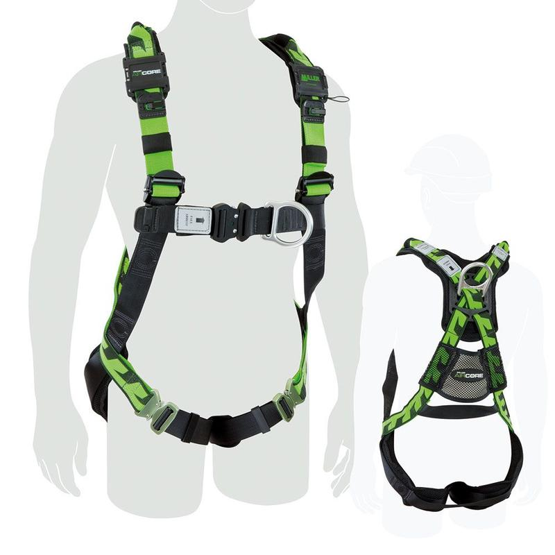 Air Core Tower Worker Soft Loop Harness