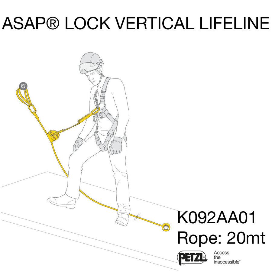 Kit ASAP LOCK VERTICAL LIFELINE
