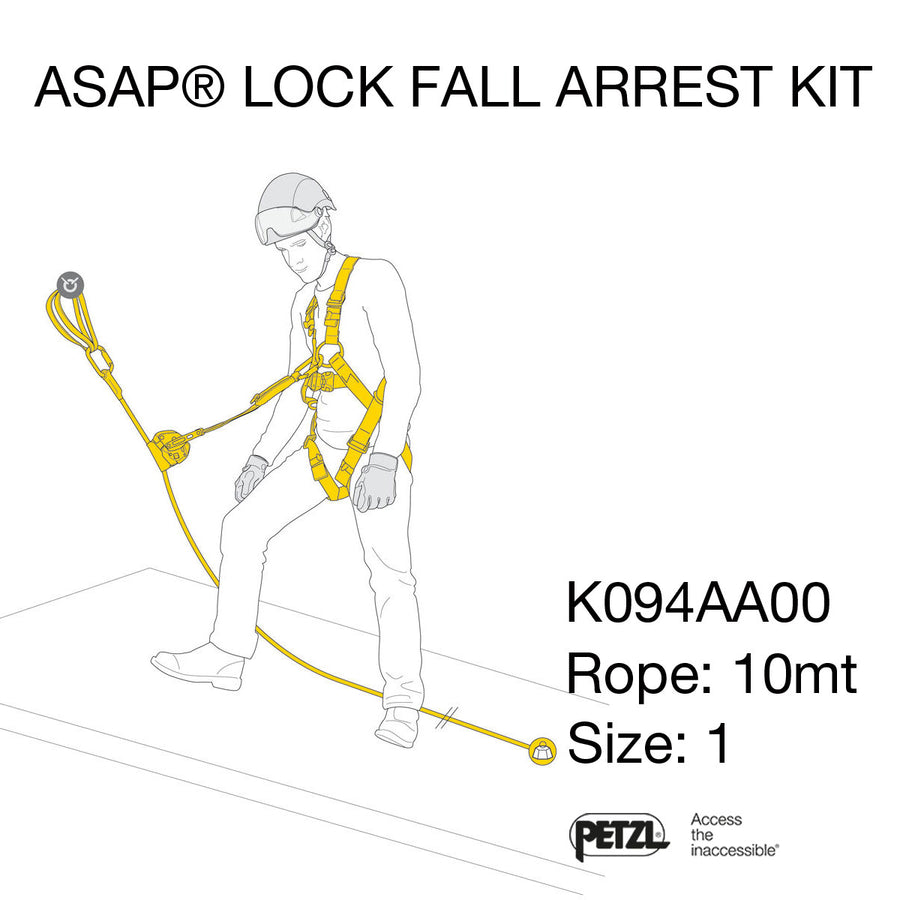 Kit ASAP LOCK FALL ARREST