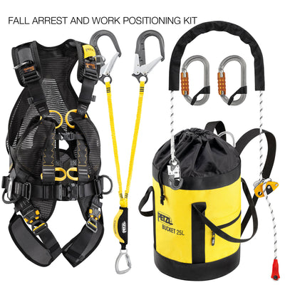 Kit FALL ARREST AND WORK POSITIONING