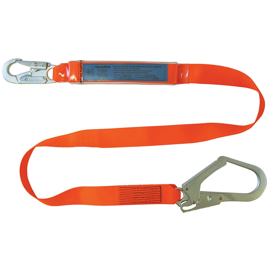 Ergo Single Lanyard - Scaffold Hook