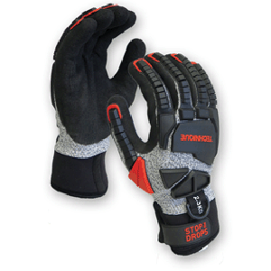 Cut 5 water resistant  stop the drop gloves