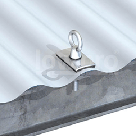 Steel Purlin Mount Anchor - Corrugated Profile