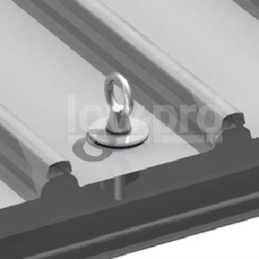 Steel Purlin Mount Anchor - Flat Profile