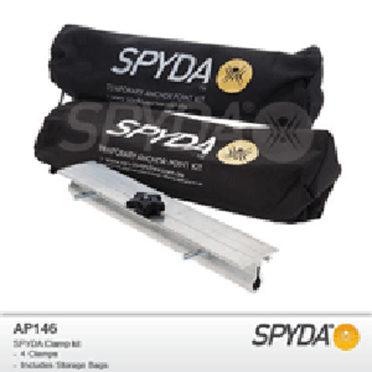 Spyda Clamp Set - 4 Clamps