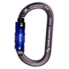 Rock O Orca Lock Alloy Oval Karabiner