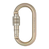 Steel Oval Screw Gate Karabiner