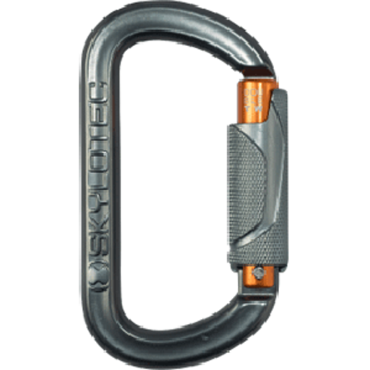 Oval Twist Lock Alloy Karabiner
