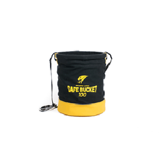 Load Rated Tool Bucket Canvas/Hook & Loop
