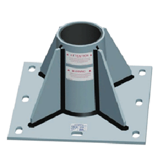 XTIRPA Central floor adapter plate