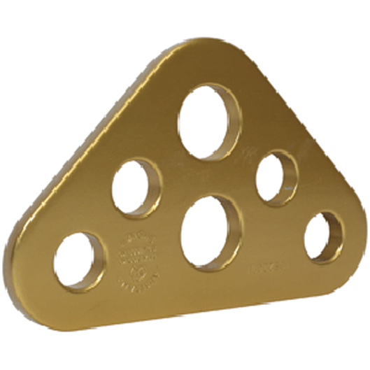 Triangular Rigging Plate