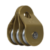 40mm Triple Pulley 9mm Rope